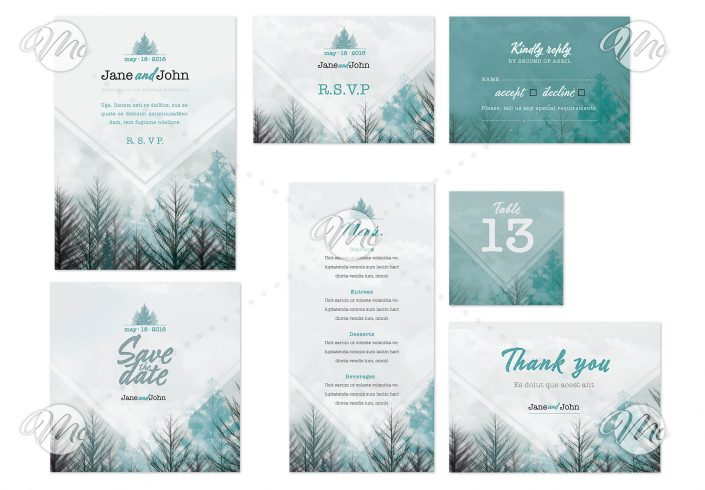 Wedding Suite with Forest Theme