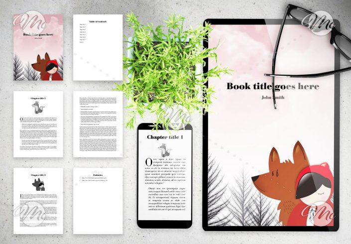 Minimalist eBook Layout